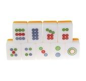 Mahjong isolou-se Fotografia de Stock