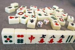 Mahjong na porcelana foto de stock royalty free