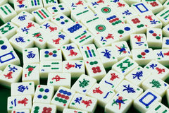 Mahjong płytki Fotografia Stock
