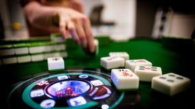 Mahjong Peng! στοκ εικόνες