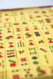 Mahjong. Stones of the chinese game royalty free stock photo