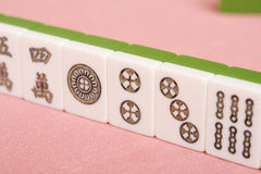 Mahjong tiles Royalty Free Stock Images