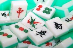 Mahjong tiles Royalty Free Stock Photo