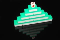 Mahjong tiles Stock Image