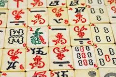 Mahjongg-Stücke Lizenzfreies Stockfoto