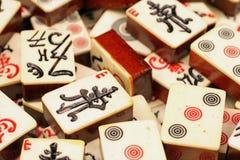 Mahjongg-Stücke Lizenzfreie Stockfotografie