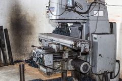 Mahlen und Bohrmaschinen lizenzfreie stockbilder