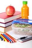 Mahlzeit in der Schule,  Stockbilder