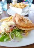 Mahlzeit am Restaurant lizenzfreies stockbild