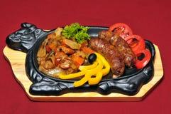 Mahlzeit von der Gaststätte Lizenzfreies Stockfoto