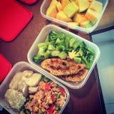 Mahlzeitvorbereitung Lizenzfreies Stockfoto