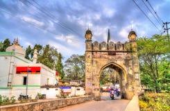 Mahmud Darwaza, one of 52 gates of Aurangabad, India. Mahmud Darwaza, one of 52 gates of Aurangabad - Maharashtra State of India Stock Image