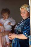 Mahmur flyktingläger royaltyfria bilder