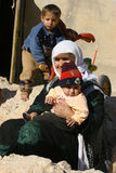 Mahmur flyktingläger arkivbild