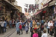 Mahmut帕沙义卖市场在伊斯坦布尔 免版税库存照片