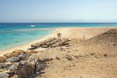 Mahmya wyspa, Egipt obrazy stock