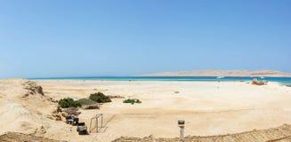 Mahmya wyspa, Egipt zdjęcia stock