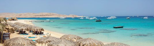 Mahmya wyspa, Egipt obraz royalty free