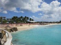Maho Beach Hotel, Sint Maarten. Picture taken from terrace of Sonesta Maho Beach Hotel, Sint Maarten Stock Image
