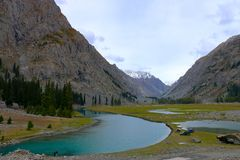 Mahodand Lake Swat royalty free stock photo