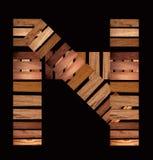 Mahogany, ash, elm, oak, pecan, pine, sycamore and redgum wood samples Royalty Free Stock Photography