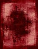 Mahogany grunge border. Heavily layered frame Royalty Free Stock Images