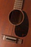 Mahogany Guitar Stock Photos