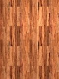 Mahogany laminate wood floor Stock Photos