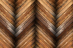 Mahogany tiles on wooden floor texture Royalty Free Stock Photos