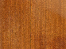 Mahogany wood background Stock Image