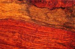 Mahogany Wood Grain Royalty Free Stock Photos