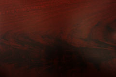 Mahogany wood grain texture Royalty Free Stock Photo