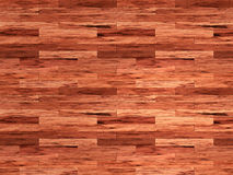Mahogany wood laminate floor Royalty Free Stock Images
