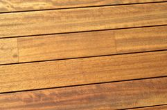 Mahogany wood texture, wooden planks Stock Photos