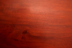 Mahogany wooden surface Royalty Free Stock Images