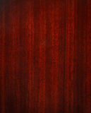 Mahogany wooden texture Stock Photography