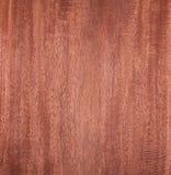 Mahogny wood textur, gammal bakgrund Royaltyfria Bilder
