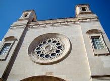 Mahon的, Menorca教会 免版税库存照片