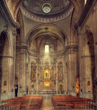 Mahon cathedral interior Royalty Free Stock Images