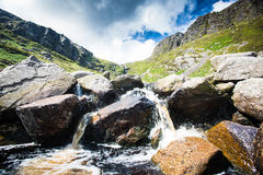 Mahon Falls. County Waterford. The Comeragh Mountains Royalty Free Stock Image