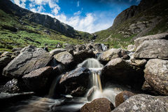Mahon Falls. County Waterford. The Comeragh Mountains Stock Photo