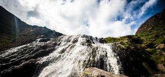Mahon Falls. County Waterford. The Comeragh Mountains Stock Photos