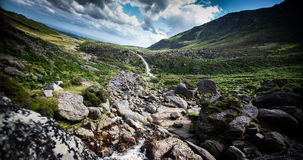 Mahon Falls. County Waterford. The Comeragh Mountains Royalty Free Stock Photo