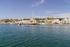 Mahon schronienie w Menorca Obrazy Royalty Free