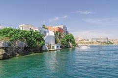 Mahon schronienie w Menorca Zdjęcia Royalty Free