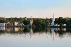 Mahone Bay, Nova Scotia Stock Photography