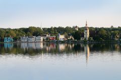Mahone Bay, Nova Scotia Stock Photos