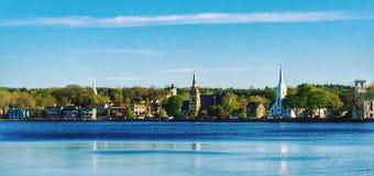 Mahone-Bucht lunenburg Nova Scotia Stockfotos