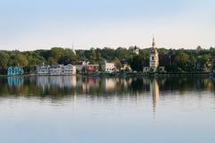 Mahone-Bucht, Nova Scotia Stockfotos