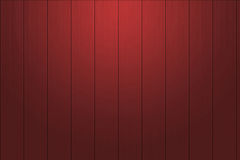 Mahonie rode houten muur voor achtergrond Stock Fotografie